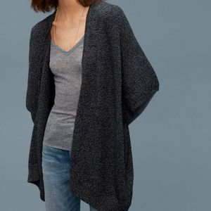 🌸Community🌸 EUC Ionic Cape Heathered Black/ Grey